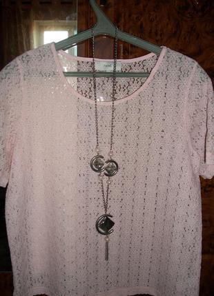 Красивая кружевная блуза (16)