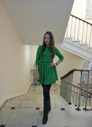 Платье olko, зеленое