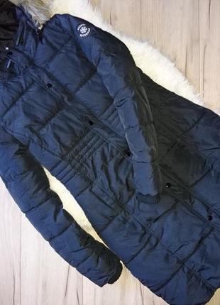 Сучасна стильна довга куртка