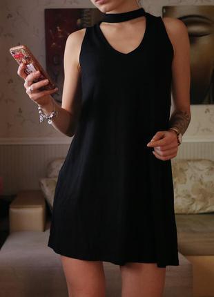 Платье-чокер pull&bear