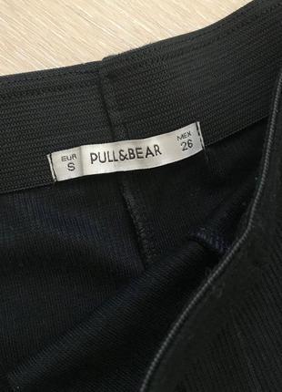 Черная расклешенная юбка p&b4 фото