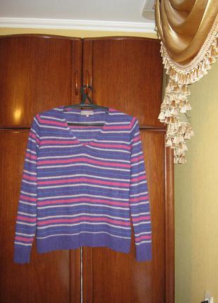 Пуловер john lewis, 100% натуральный кашемир, размер 18
