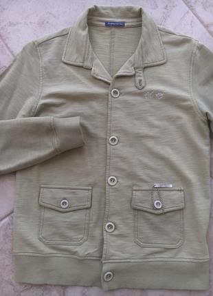 Трикотажный пиджак street gang италия на 10-12 лет