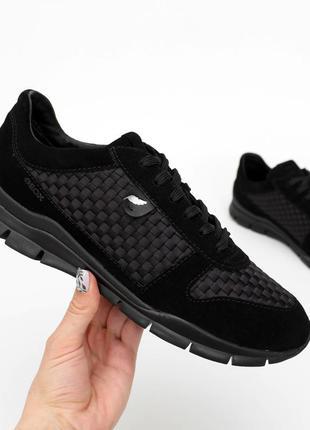 Оригінальні замшеві кросівки geox / оригинальные замшевые кроссовки