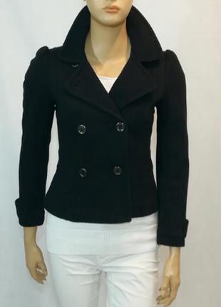 H&m, плотный трикотажный пиджак на подкладке, р-р s-м