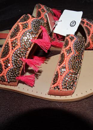 Кожаные сандалии c&a