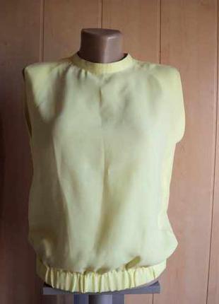 Блуза яркого лимонного цвета     (17)