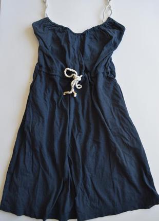 Классное платье в морском стиле h&m