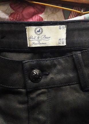 Джинсовые шорты  pull&bear