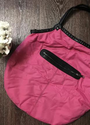 Текстильная очень вместительная сумка braska тоут  шоппер