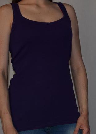 Фиолетовая майка