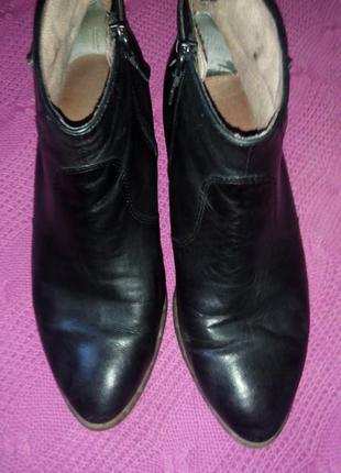 Ботинки очень мягкая кожа