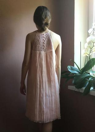 Чудесное шелковое платье melleze paris5 фото
