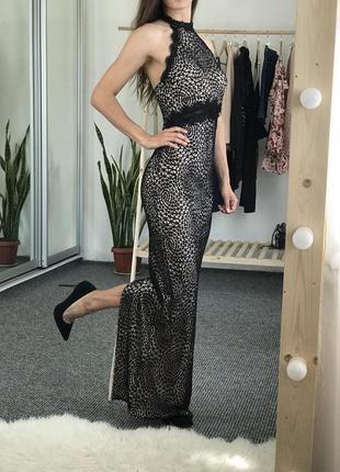 Красивое вечернее платье макси lipsy 34-36