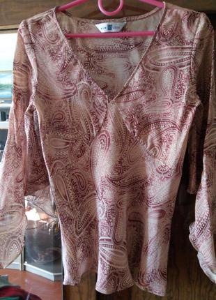 Блуза< new look> 100% вискоза