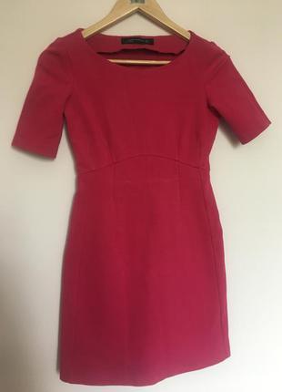 Платье из плотной стрейчевой ткани zara