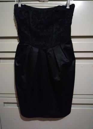 Корсетное платье-бюстье