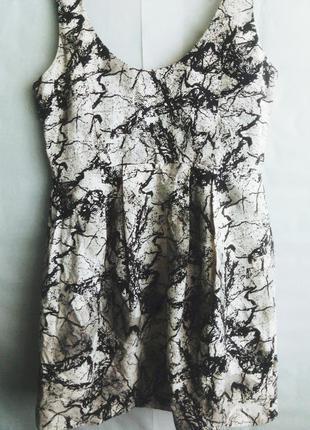 Платье сарафан h&m 100% хлопок