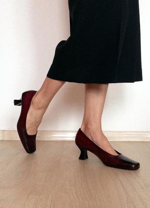Шикарные винтажные туфли