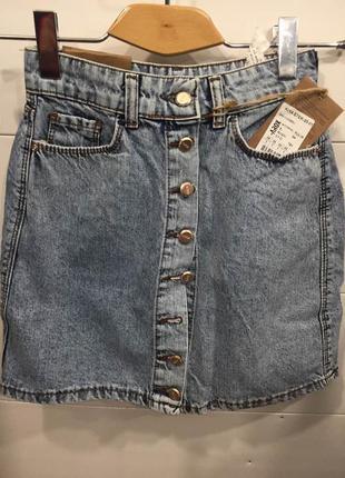 Джинсовая юбка отличного качества турция модель 2018 года arox