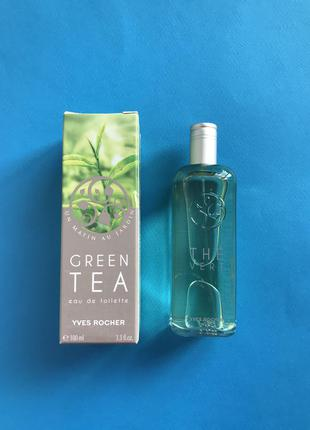 Туалетная вода the vert (зеленый чай) yves rocher 100 мл