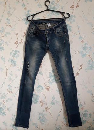 Польские  рваные джинсы