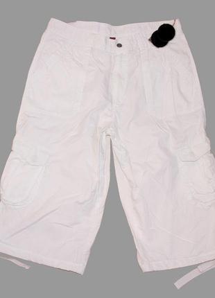 Летние мужские шорты карго obleu р. 46  коттон 100%