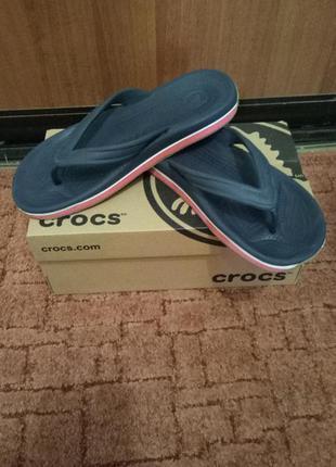 Кроксы crocs  crocsband m7w9