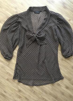 Шифоновая блуза orsay s-m