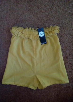 Новые шорты с этикеткой с высокой посадкой прозрачные пляжные летнее
