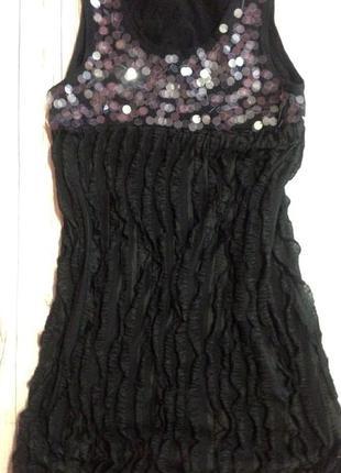 Эффектное черное вечернее платье zara,вечірня сукня!