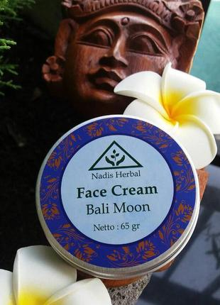 Натуральный крем для лица nadis herbal с о.бали