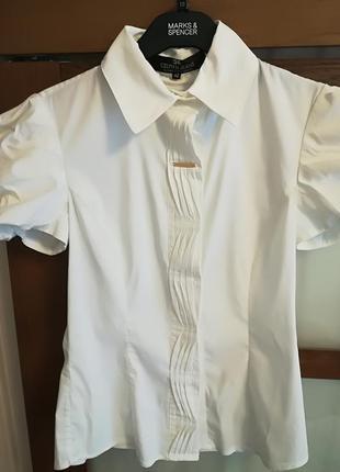 Блуза блузка рубашка белая