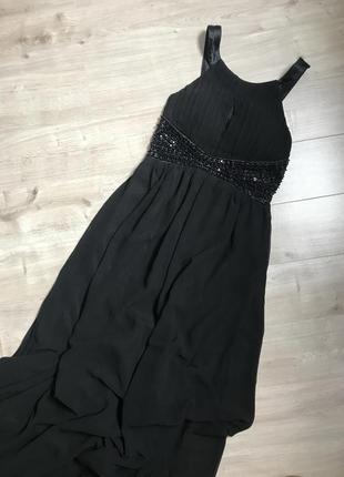 Вечернее платье в пол от ax paris