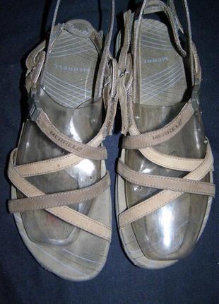 Рр 40 - 26 см стильные босоножки от merrell