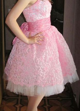 Шикарное выпускное платье от oksana mukha