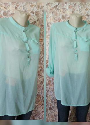 Стильна шифонова блуза 44-46р