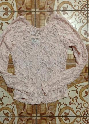 Кружевная блузка