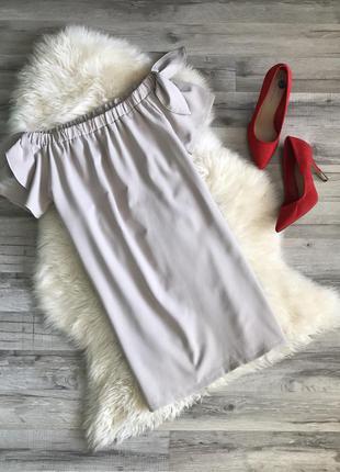 Легкое,стильное платье со спущенными плечиками