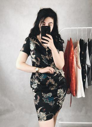 Красивое платье в принт george