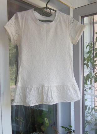 Красивая блуза с баской