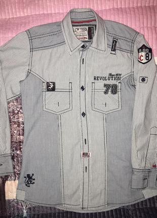 Рубашка denim lcw teen 128-134 8-9y