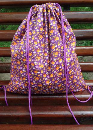 Рюкзак городской, сумка мешок, спортивный рюкзак, пляжная сумка