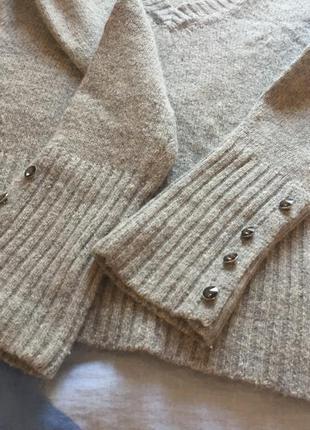 Серый свитер tally weijl