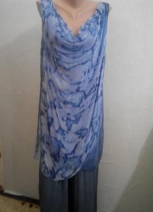 Платье туника шёлк   италия