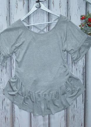 Блуза- футболка george с воланами р xl-xxl