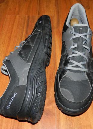 Quechua! оригинальные, легкие, надежные трекинговые кроссовки для богатыря