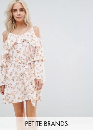 Asos ніжна сукня з квітковим принтом та довгим рукавчиком ASOS 462869a089d77