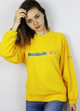 Винтажный стильный яркий свитшот кофта худи reebok freestyle