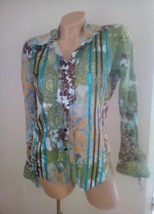 Стильная приталенная блуза.